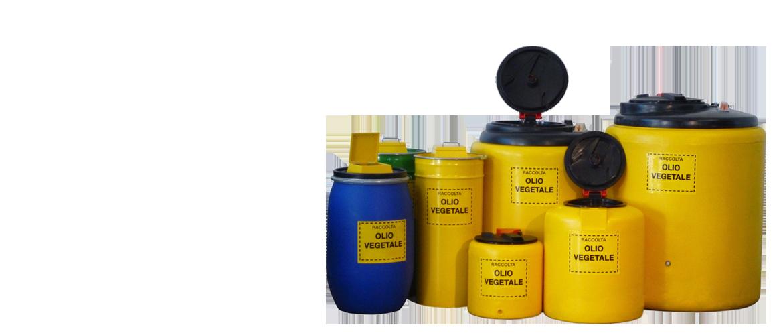 Consulprogett s.r.l. | Attrezzature per la raccolta di olio vegetale usato