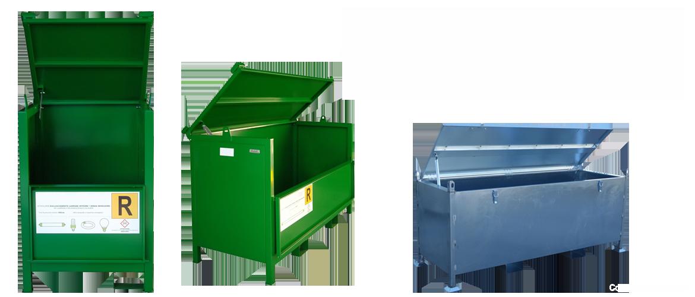 Consulprogett s.r.l. | Contenitori per la raccolta di lampade e neon esausti