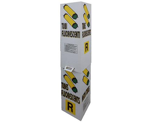 0058 Contenitore in cartone per neon esausti modello E2